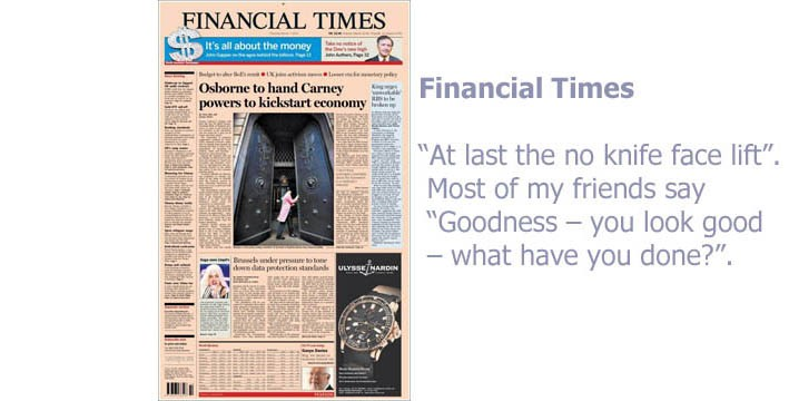 Financial Times copy
