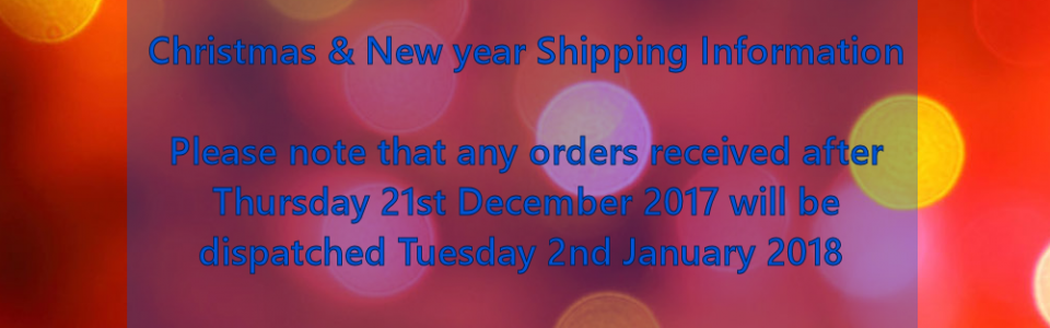 Microcustom christmas shipping info 2017